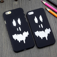 Funny ghost face mobile phone case for iphone 6 6s 6 plus 6s plus + Nice gift box 71501
