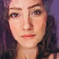 Custom Portrait Surprise - Woman painting from photo, Personalized portraits of women, Female paiting for her