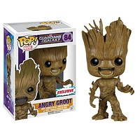 Angry Groot Guardians Of The Galaxy Funko Pop! Vinyl Exclusive