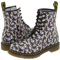 Dr. Martens 1460 W Pewter Metallic - Zappos.com Free Shipping BOTH Ways