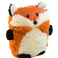 Intelex Hooty Friends Microwavable Heatable Plush, Fox