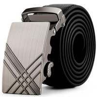 Men Luxury Belt Business Metal Automatic Buckles Belts For Men Leather Fringe Belt Ceinture Homme#212