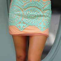 Laced Below The Waist Skirt: Multi | Hope's