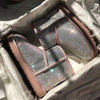 UGG Classic Mini II Boot With Crystals