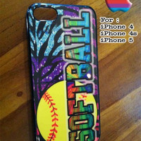 Softball iPhone Case And Samsung Galaxy Case