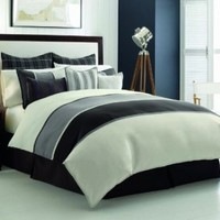 Nautica Oyster Point Duvet Cover, Queen