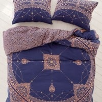 Celestial Foiled Duvet Cover | Urban Outfitters