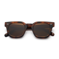 CHiMi #004 46mm Tortoise Sunglasses / Brown Lenses