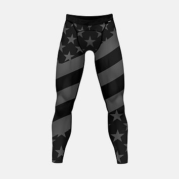 Tactical USA Flag Tights for men
