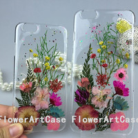 FlowerArtCase dried real pressed flower iphone 6 case iphone 6 plus case samsung galaxy note 4 case leaves flowers cell phone cases cover