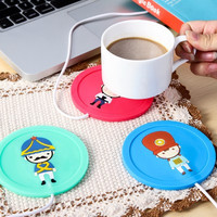 So Cute Usb Cup Warmer Coffee Tea Cup Winter Warm Coasters Gift