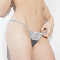 SEXY LACE G-STRING COQUETTE LINGERIE SPELLBOUND (CQSB612)