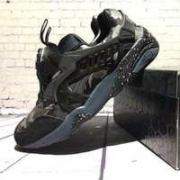 Sale Bape x Puma Disc Blaze 3M Black Camo Sport Shoes Running Shoes