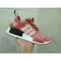 Adidas Boost NMD R1 PK Women Men Running Shoes BY9648