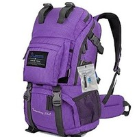 Oxking Mountaintop Outdoor Hiking Climbing Backpack Daypacks Waterproof Mountaineering Bag M5811 Shoulder Bag 35L-50L Unisex High-capacity Travel Bags Loptop Bags Multi Colors