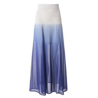 Stylish Ombre Skirt For Women