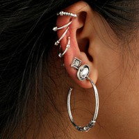 7 Pcs/set Fashion Personality Bohemia Style Earrings 171120