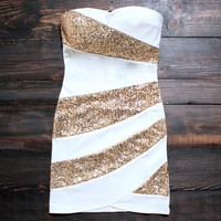 Snow Party Dress in White