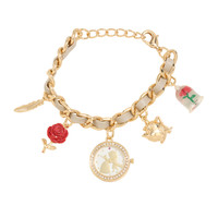 Disney Beauty And The Beast Charm Watch