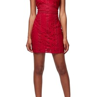 Topshop Sleeveless Lace Body-Con Dress (Petite) | Nordstrom