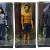 Barbie Twilight Series Dolls - Bella Swan, Edward Cullen, & Jacob Black by Mattel