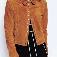 Millie Mackintosh Suede Western Jacket