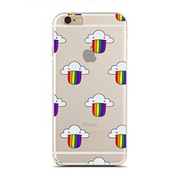 for iPhone 5/5S - Super Slim Case - Lgbt Pride - Gay Pride Day - Rainbow Gay - Love Heart (C) Andre Gift Shop