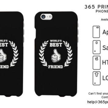 World's BFF Best Friend Matching Phone Cases - 365 Printing Inc