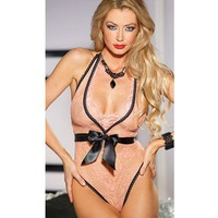 On Sale Hot Deal Cute Lace Butterfly Sexy V-neck Underwear Exotic Lingerie [6596475715]