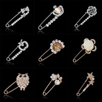 Large Brooch  vintage brooch female fashion broche hijab pins and brooches for women animal  pins broches jewelry fashion
