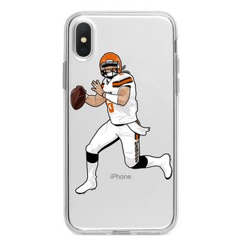 BAKER MAYFIELD BROWNS CUSTOM IPHONE CASE