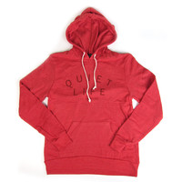 Quiet Life: Standard Pullover Hoodie - Red