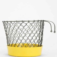 4040 Locust Round Window Planter- Yellow One