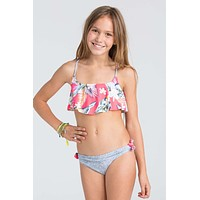 Billabong Girls - Aloha Yo Flounce Bikini | Multi