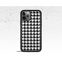 Houndstooth Pattern Phone Case for Apple iPhone