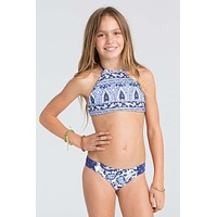 Billabong Girls - Penny Lane Reversible Bikini | Blue Cruz