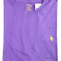 Polo Ralph Lauren Men Classic Fit Crew Neck Pony Logo T-shirt