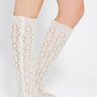 Urban Outfitters - Crochet Over-The-Knee Sock