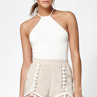 Kendall and Kylie Fringed Tulip Shorts at PacSun.com