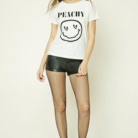 Peachy Face Graphic Tee