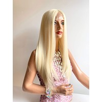ROBIN light blonde 613 platinum lace front wig in 14 inches *420