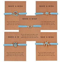 Make A Wish Animal Rope Necklace
