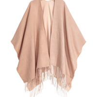 Poncho with Fringe - from H&M