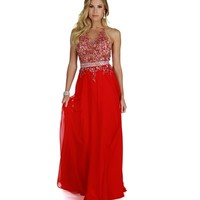 Valorie-red Prom Dress