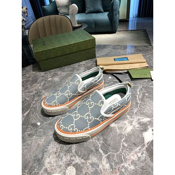 Gucci2021Women Fashion Boots fashionable Casual leather Breathable Sneakers Running Shoes0601gh