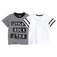 2-pack T-shirts - from H&M