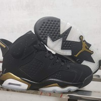 Air Jordan 6 Black/Gold