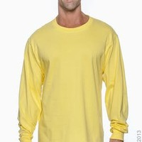 Hanes 5186 Adult 6.1 oz. Long-Sleeve Beefy-T® - JiffyShirts.com