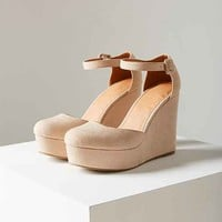 Pamela Suede Wedge