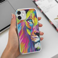 Abstract Tiger iPhone 12 Mini Case